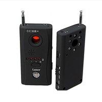 Sistemi di allarme OWGYML Rivelatore CC308 Wireless Full Frequency Laser Mini fotocamera nascosta per la privacy personale Segnale di sicurezza GSM Device1