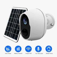 Kameras 1080p Wifi Batteriekamera IP Security Solar Wireless Smart Home Überwachung 2MP wasserdicht mit