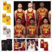 Personalizado USC Trojans Jersey Ncaa College 15 Isaías Mobley 21 Onyeka Okongwu 5 Vucevic 32 O.J. Mayo homens mulheres juventude jerseys