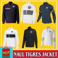 2020 2021 Naul Tigres Jacke 20/21 Gignac-Trainingsanzug Chandal Trainingsanzug Maillot de Foot Langarm Football Survetement Kit