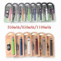 버텍스 법 LO VV 배터리 충전기 키트 1100 650mAh CO2 예열 배터리 전자 담배 vape 펜 맞추기 510 분무기 오일 카트리지 3 패키지