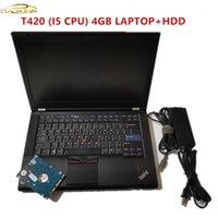 Laptop de diagnóstico quente 2020 para laptop Lenovo T420 CPU 4GB com HDD pode funcionar para o software AllData MB Star C4 C51