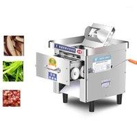 Neue Fleischschneider Maschine Edelstahl kommerziellen elektrischen Fleisch Slicer Mini Home Slicer Cutter 220V Strip1