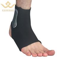 دعم الكاحل مجموعة القدم حامي الساق الرياضية تنفس النايلون النايلون الكاحلين للماء لمنع الإصابة