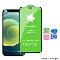 20D alta qualidade vidro temperado Phone Screen Protector para IPhone 12 mini pro iphone máximo 11 XR XS Samsung A01 A11 A21 A31 A41 A51 A71 A81