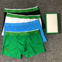 Sous-vêtements pour hommes de haute qualité Boxers Confortable Coton Sexy Men Sous-villa Boxers Boxers BoxerShorts 3 en 1 Boîte