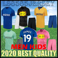 Kids Kit 2020 2021 James Rodriguez Soccer Jersey Richarlison Calvert Lewin Football Shirts Men Kits 20 21 Robin Olsen حارس مرمى جيرسي