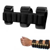 전술 사냥 8 라운드 Ammo Shotgun 쉘 홀더 캐리어 블랙 슈팅 팔람 슬리브 매그 파우치