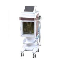 صالون متعددة الوظائف هيدرا المياه الجلدي التوجيه الوجه آلة ترطيب الوجه 5 في 1 آلة تجميل الوجه هيدرومترودروددرو معدات سبا