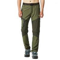 Hombres Pantalones de senderismo Pantalones de pesca al aire libre SRETT A prueba de agua A prueba de viento Camping Camping Jogger Rápido Seco Climing Legging1