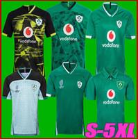 20-21 أيرلندا الرجبي الفانيلة 212 كأس العالم الفريق الوطني المنزل سترة قميص S-3XL 4XL 5XL