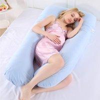 Grossesse multifonctionnelle Taie d'oreiller Sleepher Sleeper Enceintes Femmes Literie Full Corps Coussin de forme U-Shase longue Domaine Maternité Coussins1
