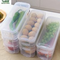 Бутылки для хранения JARS WBBOMING Многофункциональный Горёр Кухня Холодильник Box Прозрачный Держите яичную Fish Fruit Fresh Fresh Cabine Organizer