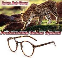عدسات النظارات Gafas ريترو البرية الطبيعة البصرية تفصيل نظارات القراءة +1 +1.5 + 2 + 2.5 +3.5 +3 +4 +5 +4.5 +5.5 +6