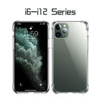 Custodia trasparente del telefono trasparente Antiurto antiurto TPU Cover posteriore in TPU per 2020 iPhone iPhone 12 iPhone x 11 11Pro max