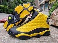 Männer Basketballschuhe 13 Gelb Hummel Jumpman RS-X transformiert 13s XIII Black Billig Sport Shoe Trainer Sneakers