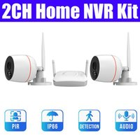 2ch 2mp mini home wireless cctv camera system HD 1080P 4ch w...