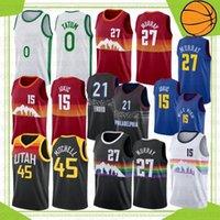15 Jokic NCAA Jamal 27 Murray College Баскетбольная майки JAYSON 0 Tatum Kevin 7 Durant Kyrie 11 Мужчины Ирвинг 2021 На открытом воздухе одежда