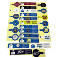 Biscotti SF Etichette Adesivi per runtz per 2oz 60ml 3.5g Barattolo di vetro Garypayton Jungle Boys Blanco Sharklato Etichetta in PVC Rosa Rozay