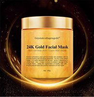 Cristal d'or collagène femme masque visage visage 24K Collagène Peel Off Masque de visage hydratant la peau Fermeté Crème Masque
