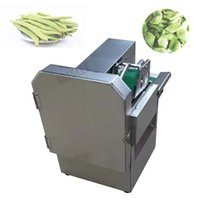 Stainless steel high quality automatic 120-350KG H output vegetable cutter, stuffing machine, ginger slicer, vegetable cutter