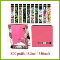 Caixa Puff mais dispositivo descartável 800 puffs 3.2ml pod 550mah descartável bateria de caneta vape vs sopro xxl