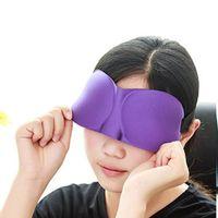 3D 통기성 수면 마스크 자연 잠자는 아이 마스크 EyeShade 커버 그늘 눈 패치 여성 남성 소프트 휴대용 여행 Eyepatch VTKY2384