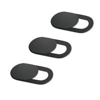 Ultra Thin камера Крышка ноутбук Затвор магнит Slider Пластиковых камеры крышка компьютер камера безопасность Веб-камера конфиденциальность Обложка для