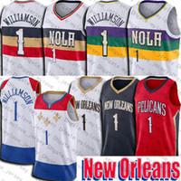 Zion New Williamson Jersey Orleans Jersey 2021 City Pellicano Jersey Lonzo Basket Ball Ball Uniforms