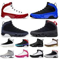 Top Quality Gym Red Jumpman 9 9s Mens Scarpe da basket satinato Racer Blue Snakeskin Bianco Bred Sports Sneakers EUR 47