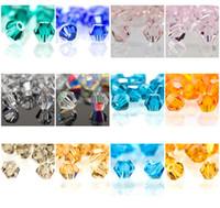 1000 шт. / Лот 16 цветов для выбора граненых чешских хрустальных бикон шариков 4 мм # 5301 DIY ювелирные изделия