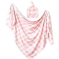 2 шт. / Установлен Baby Newborn Получение одеяло Крышки младенцев Спящая пелена