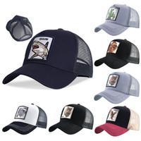 2021 animais bordados homens boné de beisebol mulheres snapback hip hop tampa de verão boné camionista osso pai dad chapéus gorra atacado