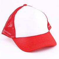 Gorras de béisbol en blanco para requisitos particulares de sublimación en blanco Sombrero Snapback Regalos de protección solar para actividades de negocios 4 5xma uu