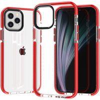 Temizle Ince Ince Kristal Şeffaf Kapak iphone 12 11 Pro Max 12mini 12pro Durumda Darbeye Tampon Kılıf Iphone X XR XS MAX