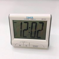 Цифровой кухонный таймер с большим экраном Smart Electronic Timer Timer Alarm Multifuncledal Counddown Часы напоминание на стену на стену