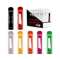 HQD Cuvie 300Puffs Monouso Pods Dispositivo Dispositivo di avviamento Kit 280mAh Batteria 1.25ml Cartucce Vuoto Vuoto Vaporizzatore Personalizzato Imballaggio personalizzato E-sigarette