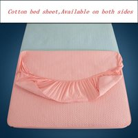 Cubierta protectora acolchada de algodón espesa cubierta de colchón antideslizante Hoja de cama personalizable 360 ° All Inclusive Hoja ajustada
