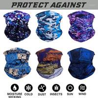 Atkılar 6 adet Sihirli Eşarp Açık Şapkalar Bandana Spor Tüp UV Yüz Egzersiz Yürüyüş Bandanalar Türban El Band Outdoor1