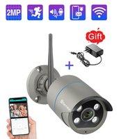 Techage 1080P Беспроводная камера двухсторонняя Аудио Звук Говори Открытый CCTV Suveillance Работа с картой WIFI Камера системы P2P APP TF