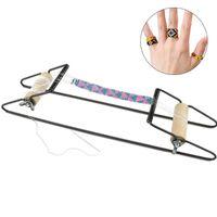 Швейные понятия инструменты древесины ткацкие бисером ткацкие набор для ювелирных браслетов ожерелья сделать DIY ручной работы вязальные машины подарки детей
