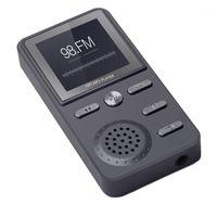 MP4 لاعبين 8 جيجابايت مشغل MP3 المعادن ضياع مركبتي الرياضة الموسيقى متعددة الوظائف FM ساعة مسجل بصوت عال مشغلات ستيريو-أسود 1