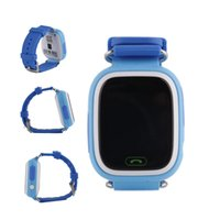 Yeni GPS Q90 Dokunmatik Ekran Wifi Konumlandırma Akıllı İzle Çocuk SOS Çağrı Konum Bulucu Cihazı Izci Çocuk Güvenli Anti Kayıp Monitör Ücretsiz DHL