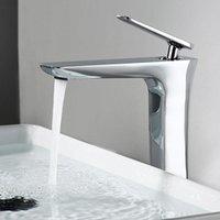 Torneiras Bidet Chrome / Mablack Banhado Banheiro Basin Bacia Torneira Montado Único Misturador De Água Fria Top Top Tap