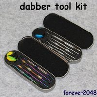 106- 121mm Dab Tool Kits Wax Dabber Tool Set Aluminium Box Pa...