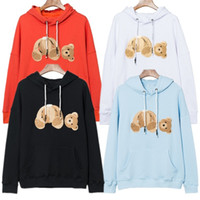 New Autumn and winter new Hoodie loose Mens Hoodies High Quality bear Hoodie Men Women Sweatshirt Long Sleeve European size