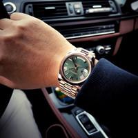 Высококачественные мужские часы Лучшие бренд Роскошные Мужские Часы Золотая Нержавеющая Сталь Водонепроницаемые Часы Мужской Часы Relogio Festina Masculino LJ201119