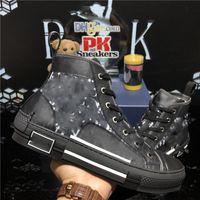 Высочайшее качество B 23 Кочах Технология Canvas Тренажеры Кроссовки Люксы Дизайнеры Обувь Мужчины Женщины Пары Моды Открытая платформа Повседневная Обувь