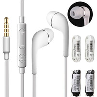 Auriculares en audífonos a los auriculares de 3.5 mm con micrófono de control remoto de volumen Auriculares para auriculares para Samsung Galaxy S3 S4 S5 Note 2 4 MP3