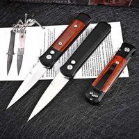 Prot mini Godfather 920 Flipper Couteau automatique 154cm Micro UT85 BM 3400 4600 ZT 0456 Couteau de survie tactique de la légitime de la léganité de l'extérieur
